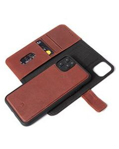 Decoded - Leather Detachable wallet - Bruin  voor iPhone 11 Pro