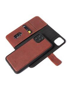 Decoded - Leather Detachable wallet - Bruin voor iPhone 11 Pro Max