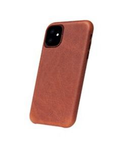 Decoded - Leather Backcover Bruin  voor iPhone 11