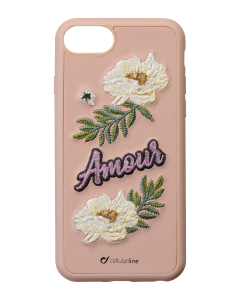 Cellularline Backcover Patch Amour iPhone 8,7,6S