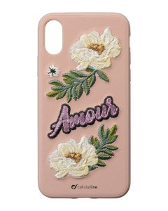 Cellularline Backcover Patch Amour iPhone XS / X